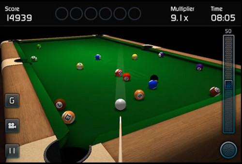 3D 撞球遊戲 – 3D Pool Game