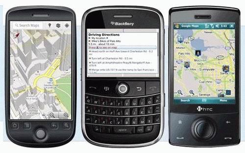 Google 手機地圖